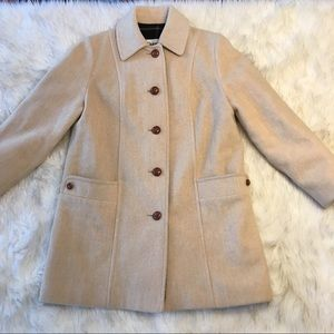 Vintage Cream Wool Jacket